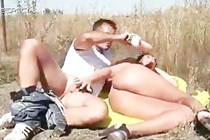 horny milf gets screwed hard outdoor part6