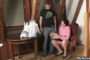horny mother in law needs jock