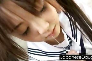 japanese daughter hard drilled