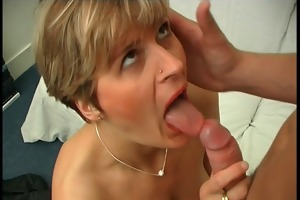 french mom acquires anal fucked by a young man