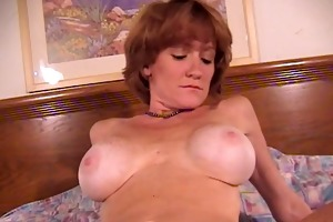 sexy mother getting cock to engulf and fuck