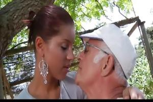 big shlong oldman fucks his much younger sexy