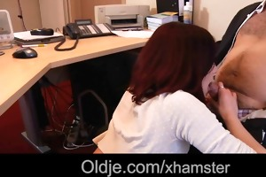 old boss fuck his hot youthful assistant in the