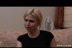 hot breasty blonde floozy is punished &