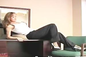 hawt blonde milf vibrator pussy on livecam show