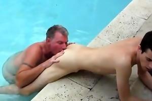 astonishing homosexual scene dad brett obliges of