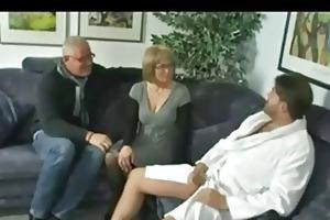 older couple invites juvenile stud to spice