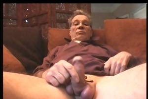 grandpa triple cumshot