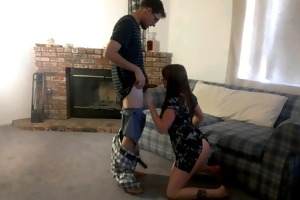 classiccouchfucking- young amateur couple role