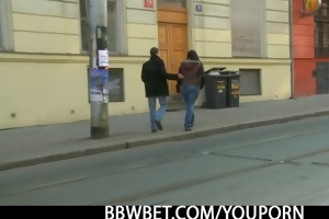 hawt fatty is picked up by an youthful guy