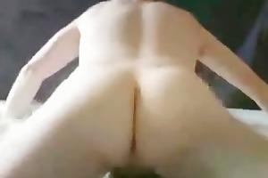 slim white daddy makes himself cum part2