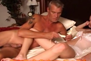 dad gives step-daughter a creamy surprise!