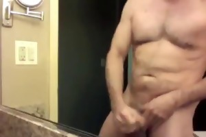 a hawt married daddy jerking off in chicago