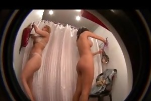 rich housewives caught stripped in changing room
