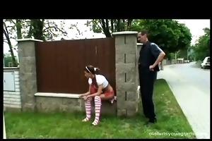 youthful hotty gets punished