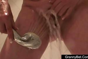 large tits granny drilled hard