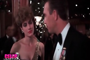 sean young making out with a lad in a car with