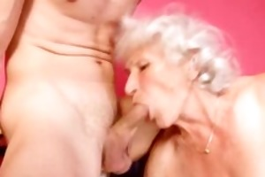 granny betty copulates young ramrod