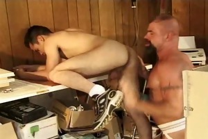 demolition daddy : guy fucked twice in a row