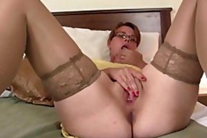 he is finds her masturbating and offers his jock