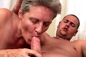 lusty grandmas and young men compilation