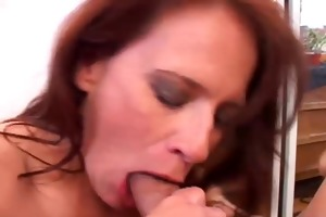 gorgeous aged sweetheart loves to engulf pecker