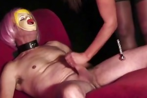 breasty female-dom bonks her sexdoll then he is