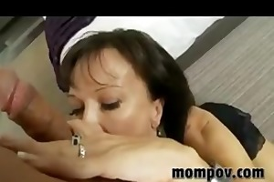 swinger milf trying out porn for st time