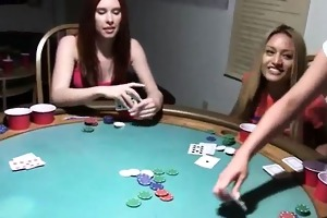 young teenagers fucking on poker night