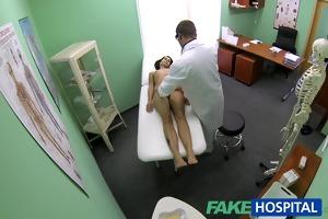 fakehospital slim slender juvenile student cums