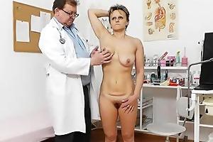 slender wife with a bushy fuck gap