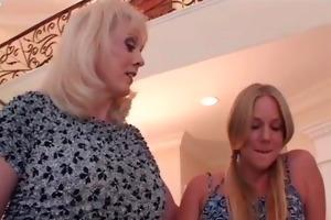 young chick enjoying in lesbian sex