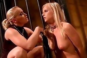 marvelous female-dom punishing youthful girl