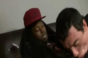 black homosexual guys fuck white juvenile males