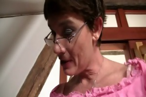cock-hungry wench seduces son in law