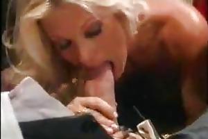 hot blond mature fucks old man