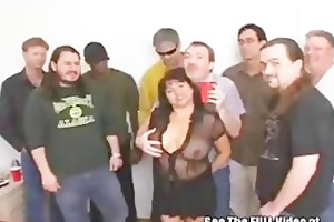 breasty mother i susies gang team fuck bukkake