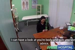 fakehospital young mum wanting to feel hot has