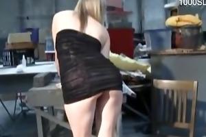 18 year old slut cum filled arse