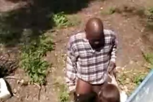 young redhead receives by old man by