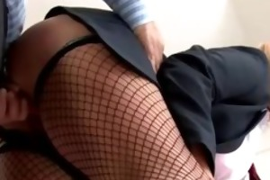 schoolgirl cocksucking and doggystyle