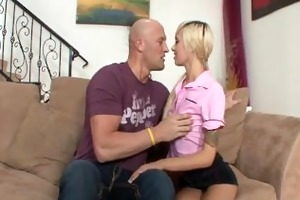 hot blond teen emma mae sucks and bonks aged lad