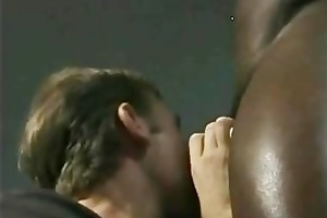 interracial homo sex on the bench cram