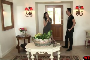 excited stepmom joins the teens fun fuck