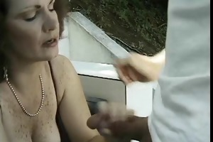 older doxy with nice tits unfathomable face holes