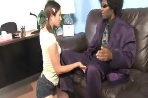 tight juvenile legal age teenager takes big black
