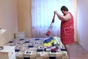 bbw granny maid love biggest schlong