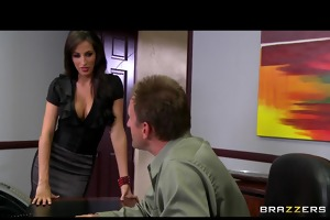 hot big-tit slutty pornstars fuck their boss dick