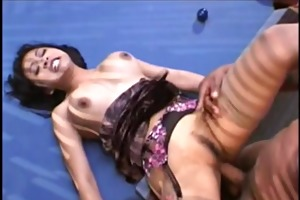 consummate young asian with valuable bush and