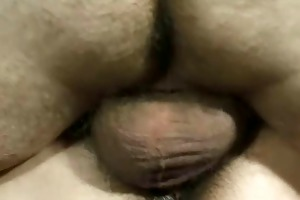 large dick daddy with hairy woman